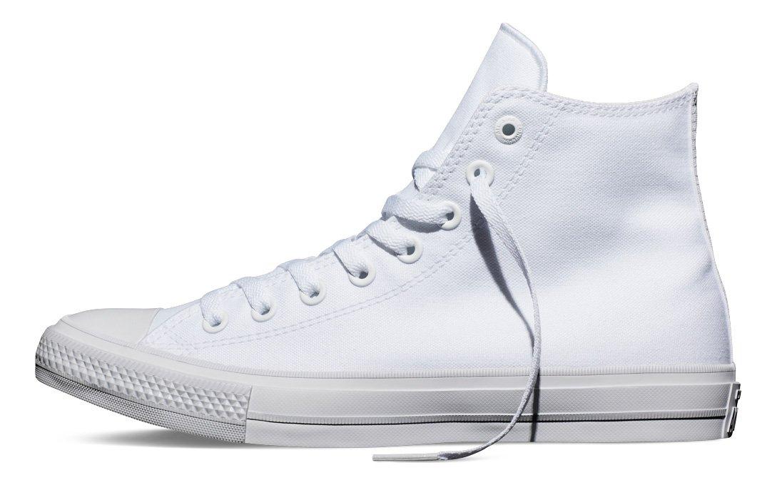 Converse Chuck Taylor All Star II High B010S5AWWM 7.5 B(M) US Women / 5.5 D(M) US Men|White