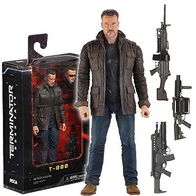NECA Terminator Dark Fate T-800 Ultimate 7IN AF: Toys & Games