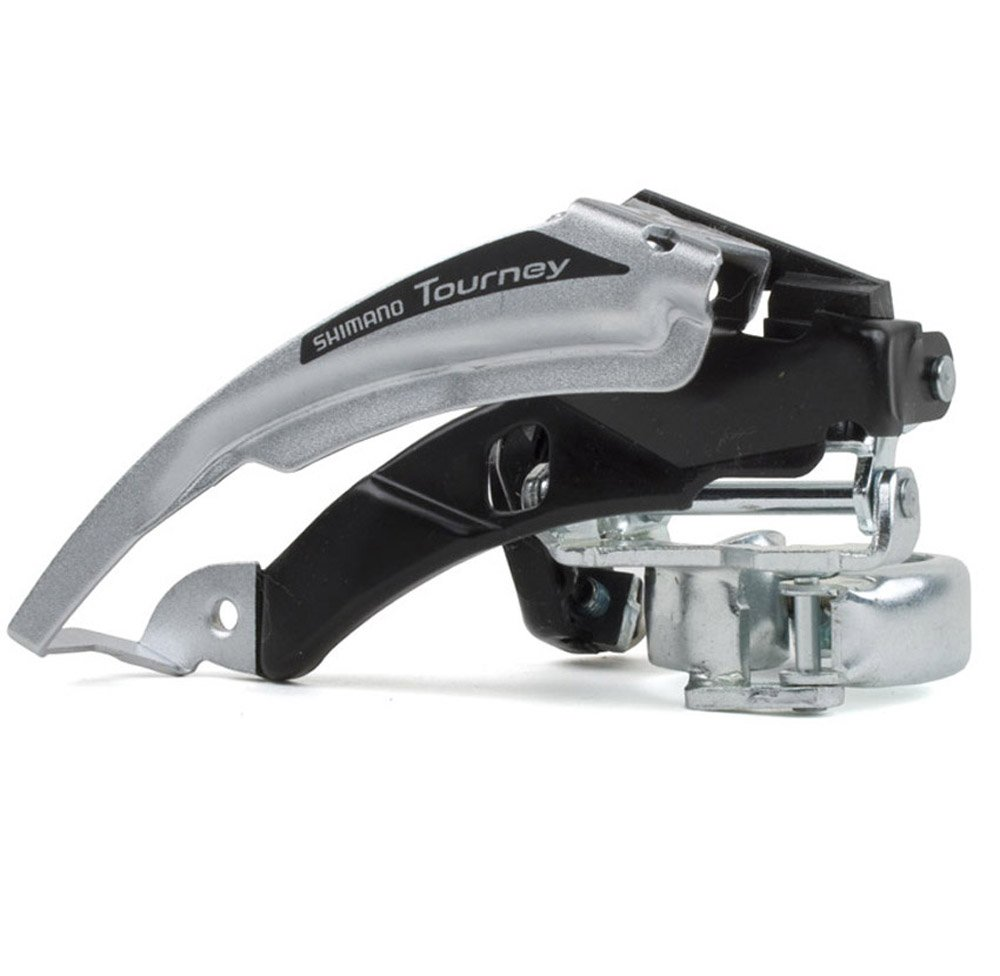 SHIMANO FD-TX50 Tourney Front Derailleur (34.9-28.6-mm 3x6/7 Speed Low-Clamp) by SHIMANO