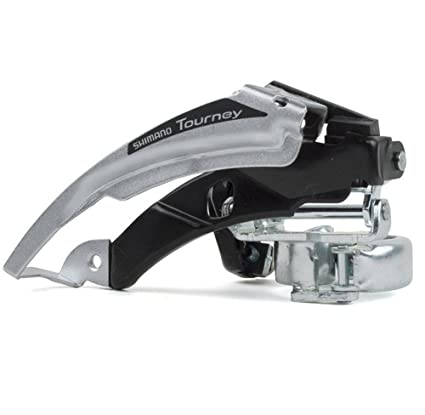 630966850f4 Amazon.com : SHIMANO FD-TX50 Tourney Front Derailleur (34.9-28.6-mm 3x6/7  Speed Low-Clamp) : Front Bike Derailleurs : Sports & Outdoors