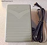 NewPowerGear Foot Speed Control Pedal Replacement For White 2999, White Model 1740 Quilter's Machine Part#: 4C-337G