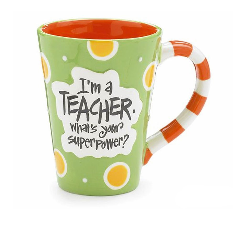 teacher gift superpower mug