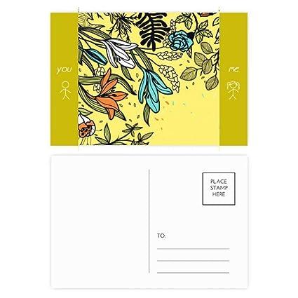 DIYthinker Las plantas modernas de arte Lily Flores Dibujo ...