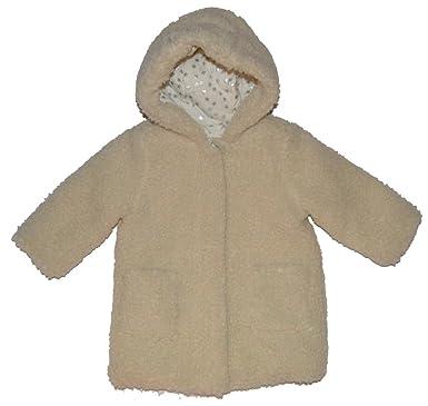 bc79d9d1a74d Amazon.com  Baby Gap Girls Ivory Sherpa Jacket Coat 18-24 Months ...