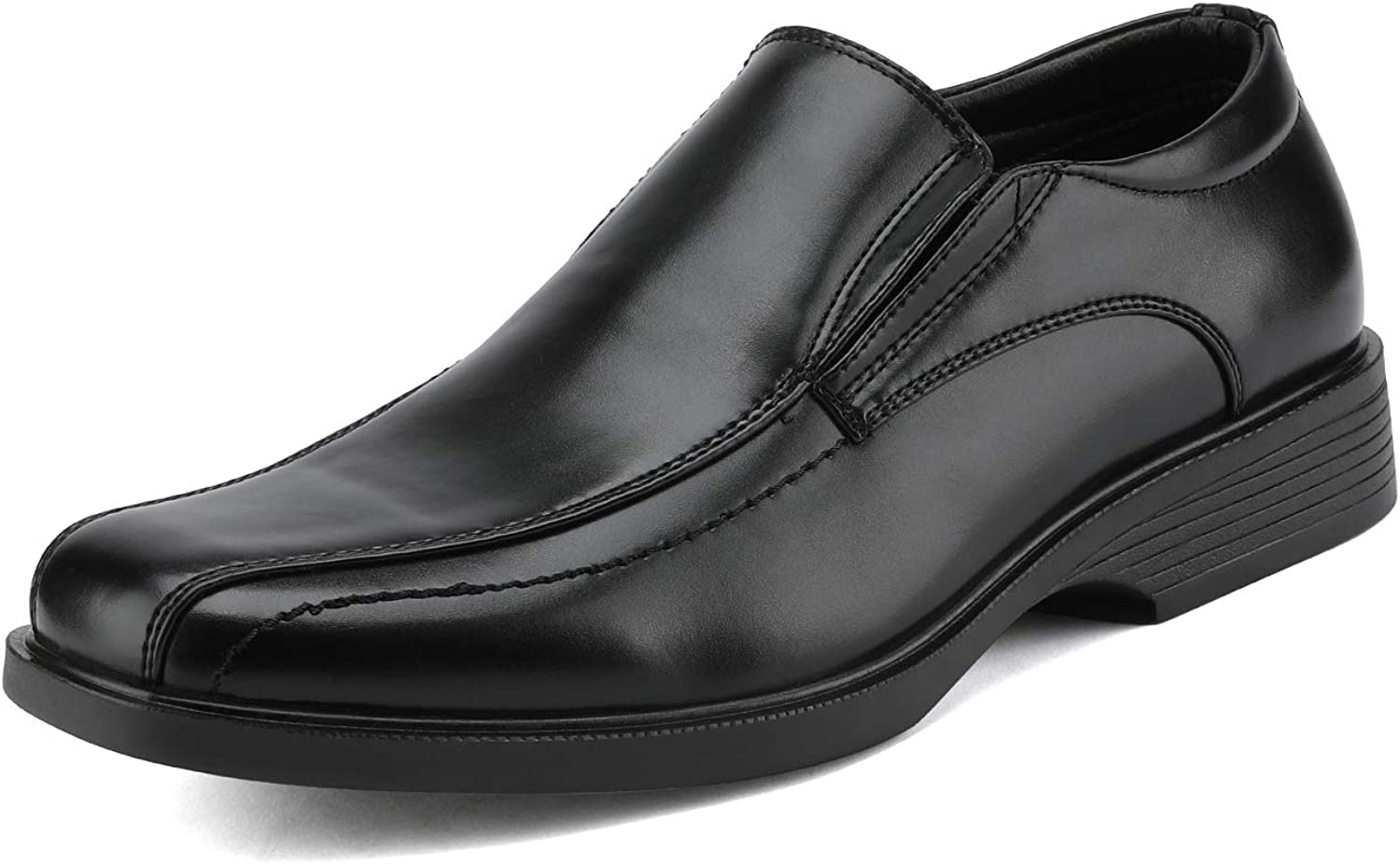 Bruno Marc Men's Formal Leather Lined Dress Loafers Shoes