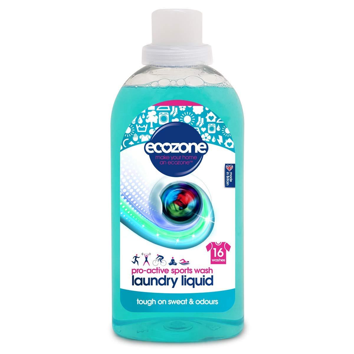 Ecozone Detergente Deportivo Pro-Active Sports, 100% líquido, Azul ...