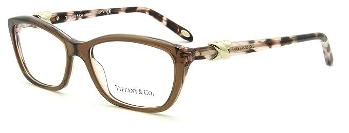 c6b405bb608 Amazon.com  Tiffany   Co. TF 2074 Women Cat-Eye Eyeglasses RX - able Frame  8255