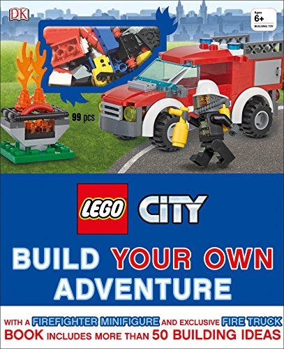 Own Adventure Set - LEGO City: Build Your Own Adventure: With a Firefighter Minifigure and Exclusive Fire Truck