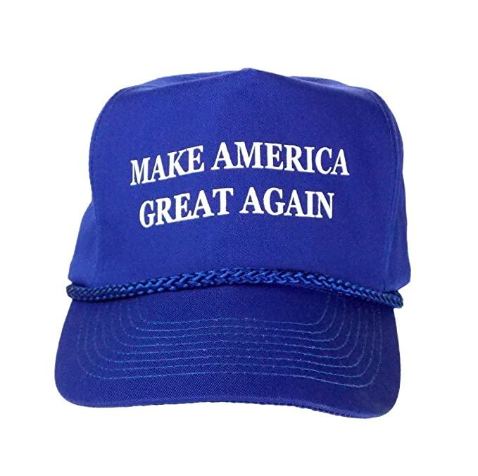183bb53dc98b0 Image Unavailable. Image not available for. Color  Make America Great Again  Donald Trump Blue Hat ...