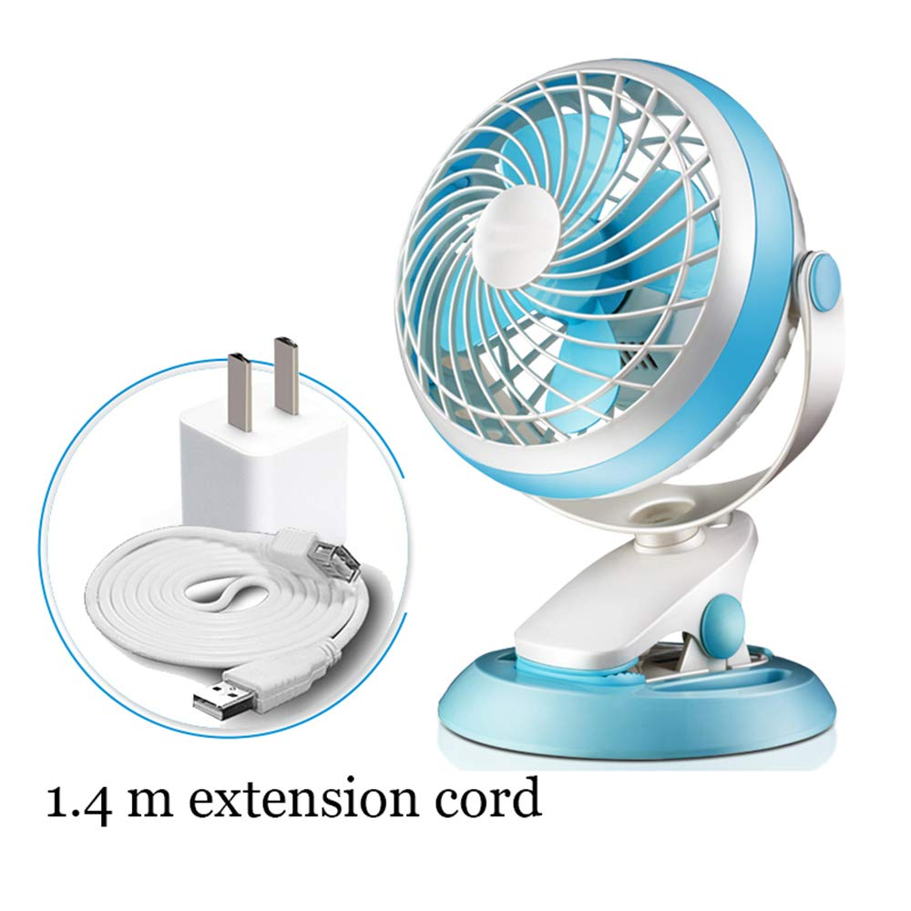 ZMFS Ventilador eléctrico Mini Dormitorio estudiantil Ventilador ...