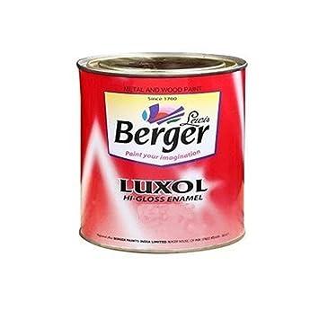 Berger Instruments Paints Luxol Hi-Gloss Enamel 1Ltr. (Golden Brown)