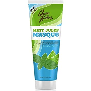 The Original Facial Masque Trial Size Mint Julep - 2 oz. by Queen Helene (pack of 2) USA Micro needle roller Titanium beauty Derma Wrinkles Scars Acne 192 pin 0.25mm