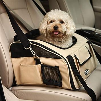 MYYXGS Bolsa de Coche para Mascotas, Bolsa para Perros, Bolsa para el Coche, Alfombrilla para Mascotas, portátil, Suave, Viaje, 40 x 34 x 26 cm: Amazon.es: Productos para mascotas