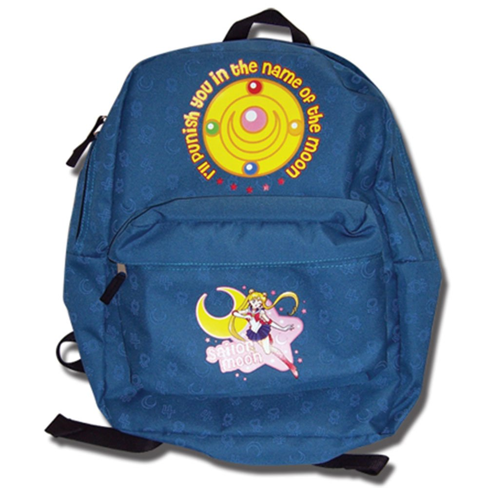 Sailormoon Sailor Pattern Backpack Toy Zany