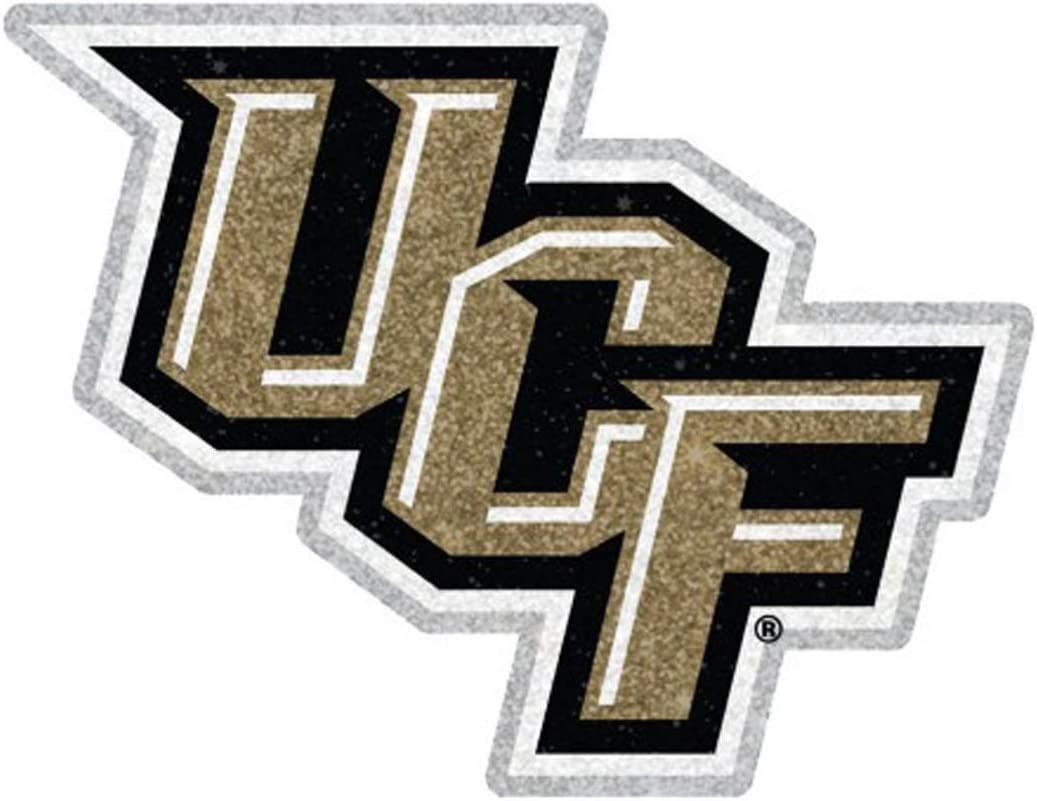 Hard Thick Acrylic WinCraft University of Central Florida UCF Knights Glitter Edition Auto Badge Emblem