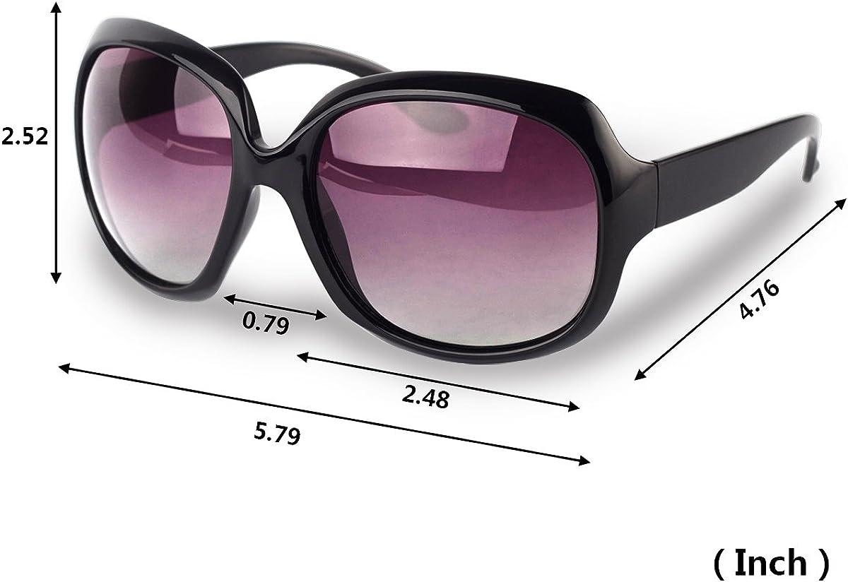 Angeln Reisen AkoaDa Sonnenbrille Damen Polarisiert Anti-Reflexion 100/% UV 400 Augenschutz Brille Schwarz Sonnenbrille f/ür Fahren Outdoor/…