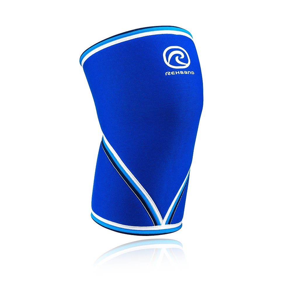 Rehband 7mm Knee Sleeve - Model 7051 Original Blue
