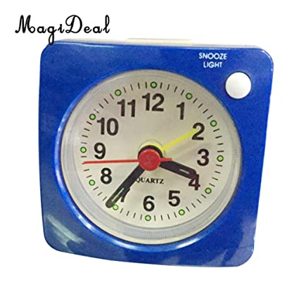Amazon.com: Alarm Clocks for Bedrooms - 6cm Small Clock ...