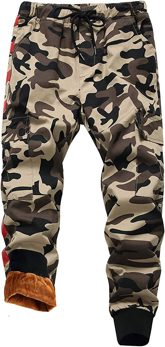 Dykmod Boys Childrens Camouflage Trousers Pants 6-13 Years