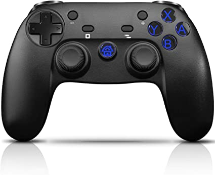 CHEREEKI Mando Inalámbrico, Controlador para Nintendo Switch Mando Switch, Mando de Juegos con Bluetooth/Gyro Axis/Turbo/Dual Shock: Amazon.es: Electrónica