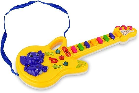103855 Guitarra de juguete con luces predefinidas melodías y ...