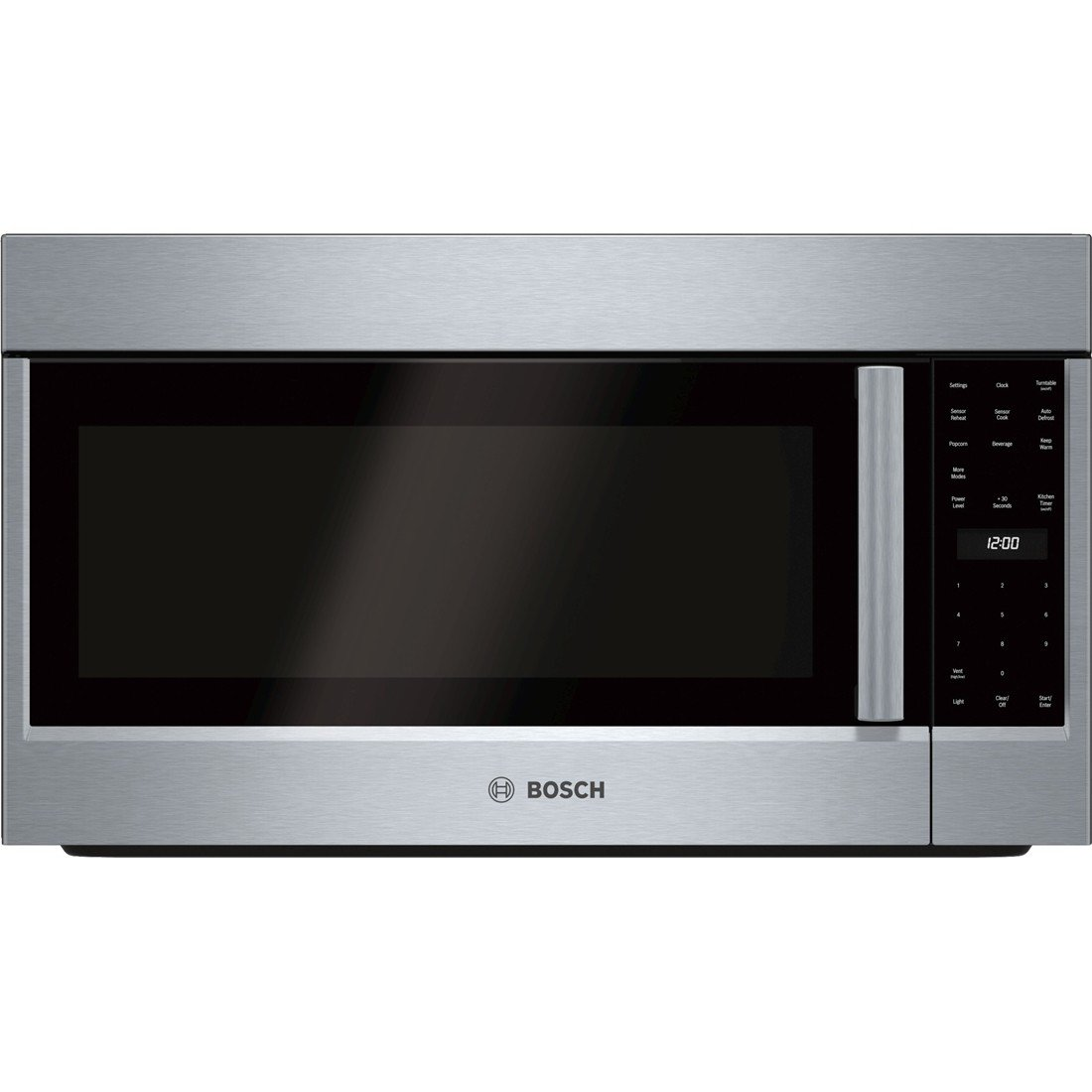 Bosch HMV5052U 500 2.1 Cu. Ft. Stainless Steel Over-the-Range Microwave  by Bosch