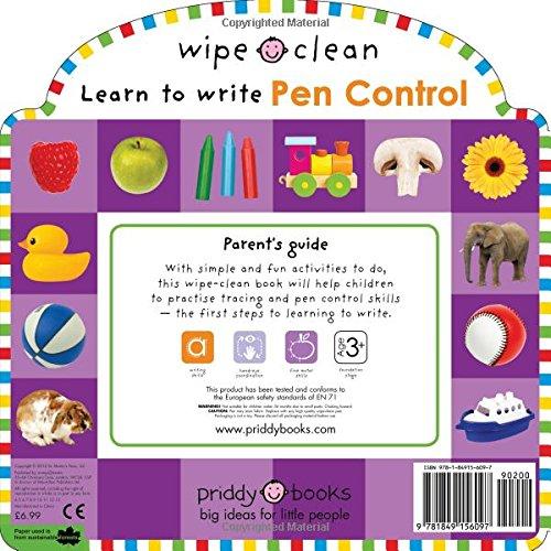 Wipe Clean: Starting Pen Control: Includes a Wipe-Clean Pen (Wipe Clean Workbooks) free download