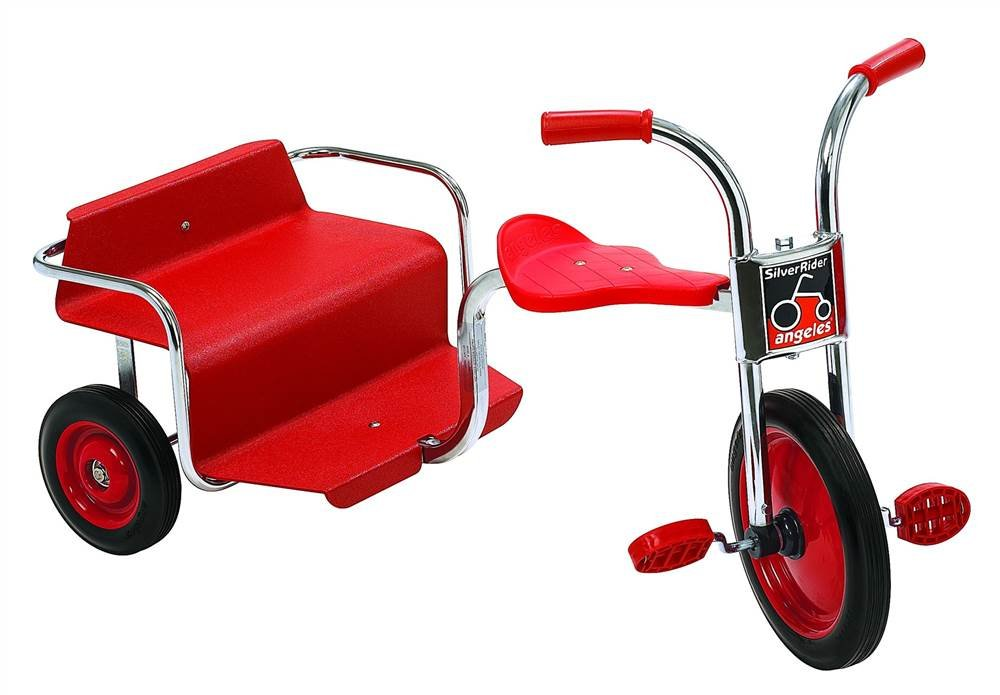 Angeles Kids Toddler Children SilverRider Rickshaw