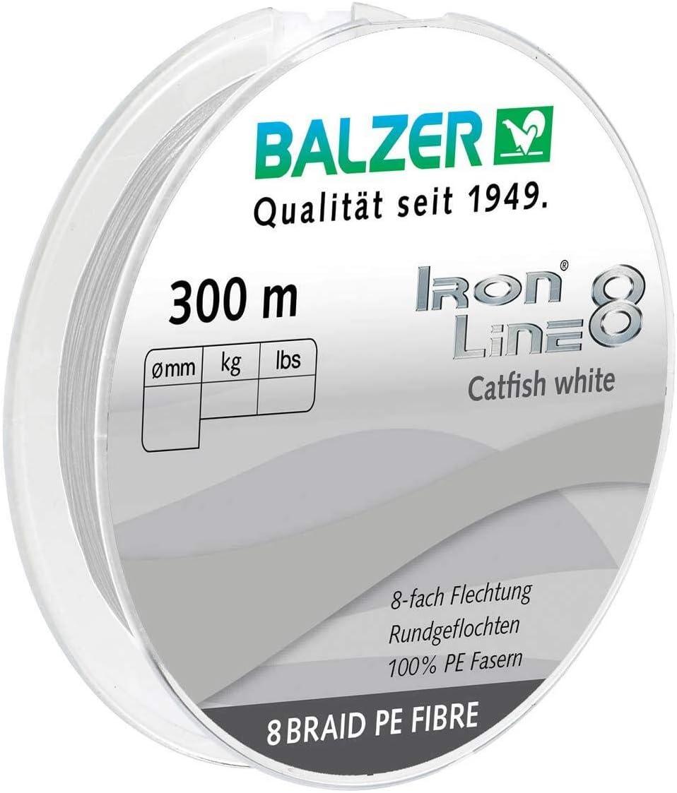 Balzer Iron Line 8 Catfish Wels 300 m Spule geflochte Schnur