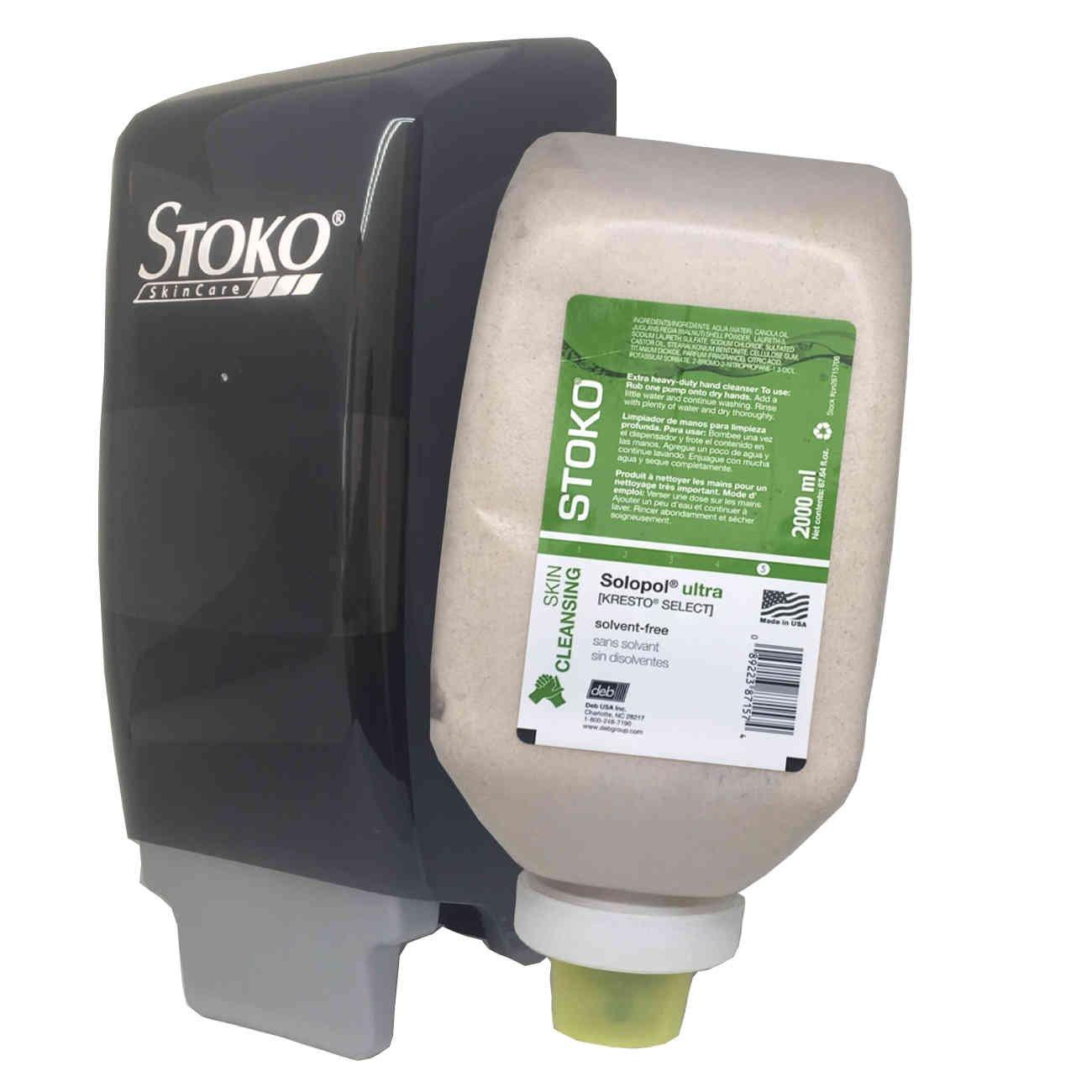 Solopol Ultra [Kresto Select] 2L Softbottle (PN28715706) + Dispenser (PN5598086) Combo