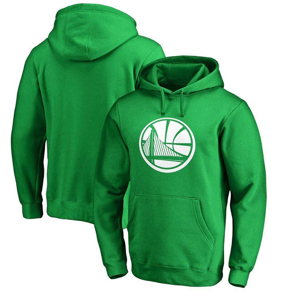 vert XX-grand WSX Sweat à Capuche NBA à Capuche oren State Warriors pour Hommes De Sports Lettre Décontracté De La Mode pour Les Jeunes T-Shirt Lakers,vert-XXXL