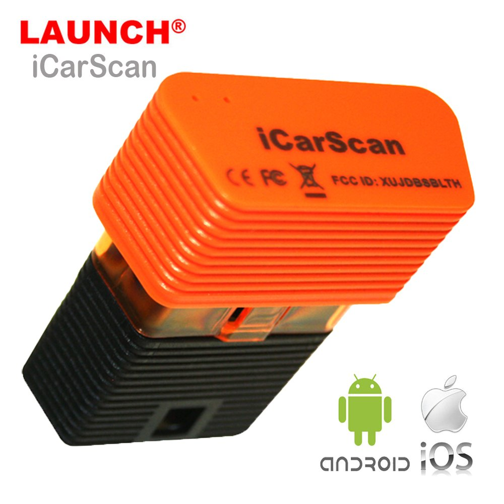 LAUNCH Icarscan Super X431 Idiag Full Systems Diagnostic Tool Bluetooth Scanner for Android/IOS with 5 Free Diagnostic Software and 3 Special Function Software Update Online