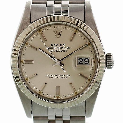 Rolex Reloj De Viento Automático Datejust 16014 para Hombres: Rolex: Amazon.es: Relojes