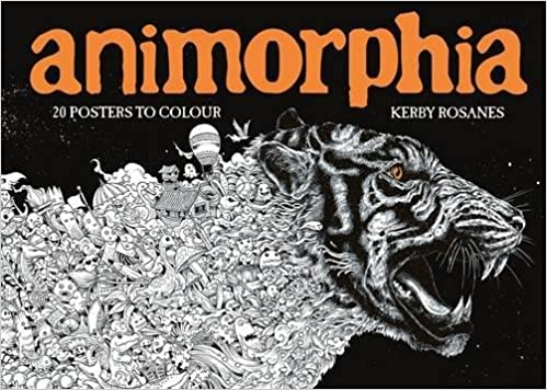 Animorphia 20 Posters To Colour Colouring Books Amazoncouk Kerby Rosanes 9781910552568