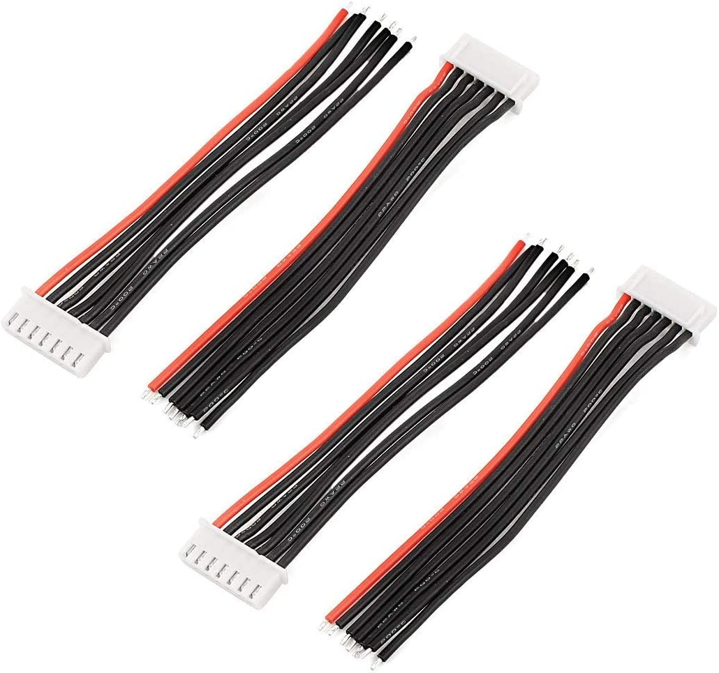 4/pcs 22.2/V 6S LiPo batterie balance chargeur c/âble connecteur de fil de plomb