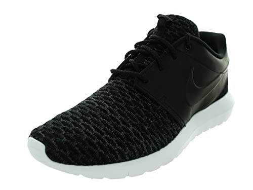 17f7f57d87b8 nike roshe NM flyknit PRM mens running trainers 746825 sneakers shoes  Black Black Dark Grey White 8 D(M) US  Buy Online at Low Prices in India -  Amazon.in