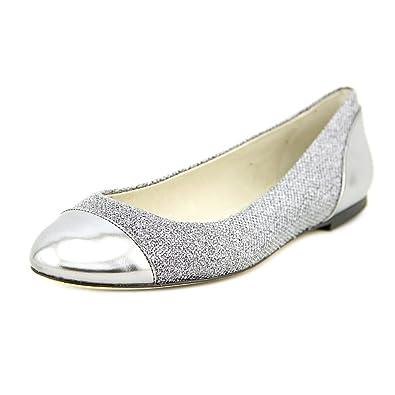 15148f92f60c Michael Michael Kors Shala Ballet Women US 8 Silver Flats