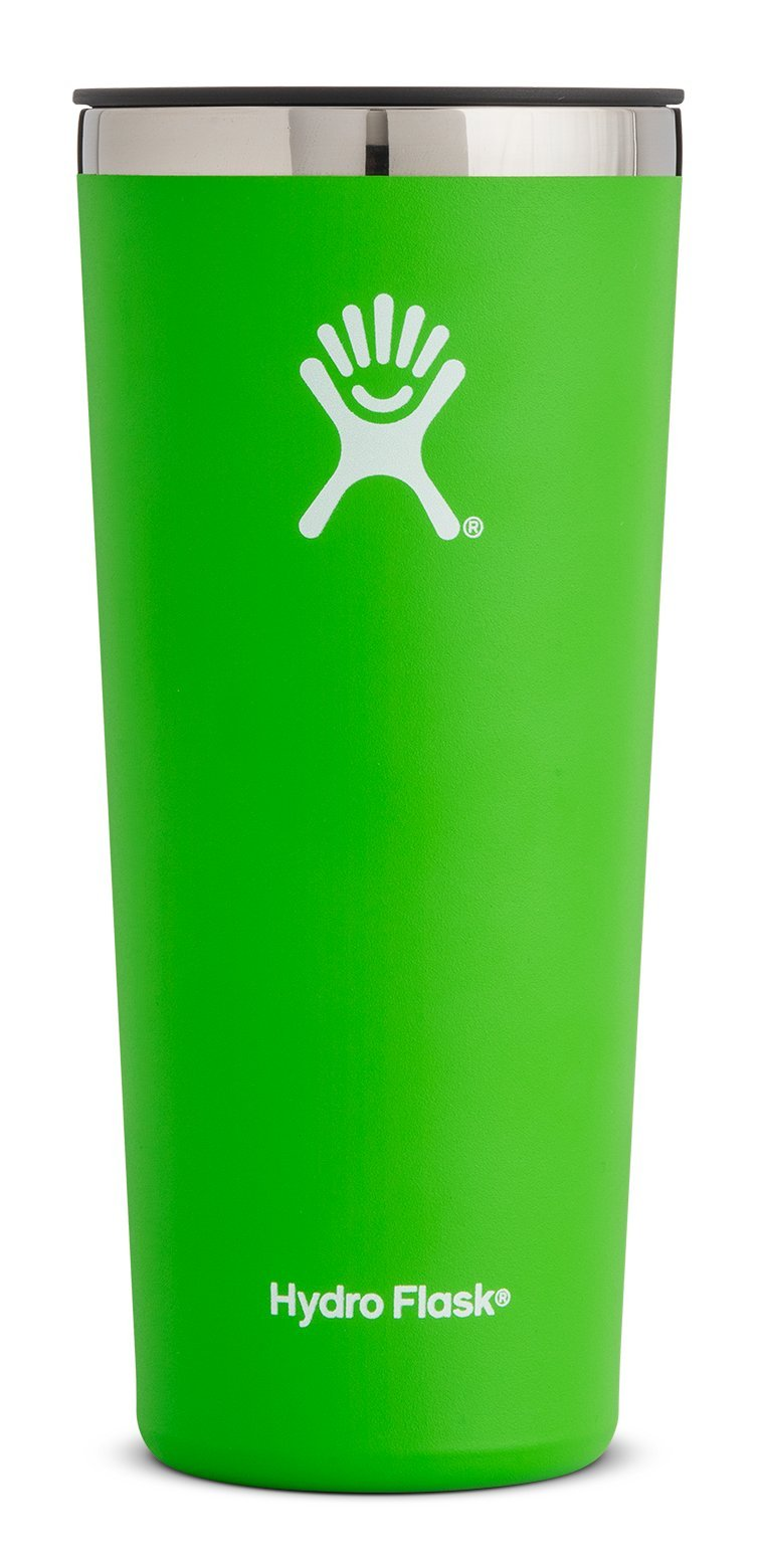 Hydro Flask 22 oz Double Wall Vacuum Insulated Stainless Steel Travel Tumbler Cup with BPA Free Press-In Lid, Kiwi