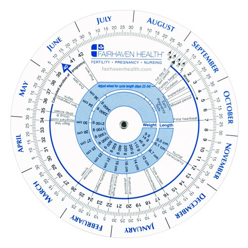 Pregnancy Wheel and Ovulation Calendar (Expert Wheel)
