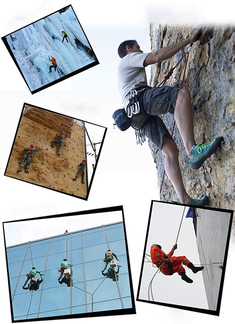 Rope Cuerda de Escalada de Roca estática al Aire Libre de 20 ...