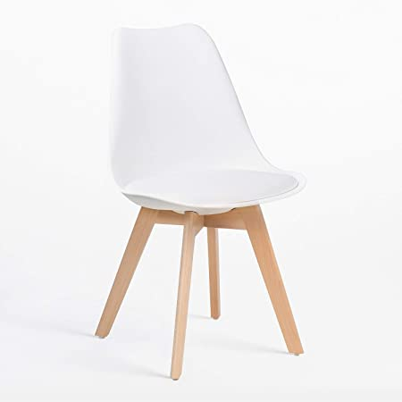 SKLUM Chaise Nordic Blanc (Plus de Couleurs)