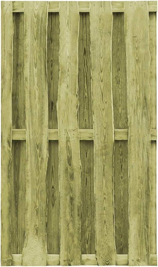 ghuanton Puerta de Valla de Madera Pino impregnada FSC 100x170 cm verdeBricolaje Vallas de jardín Puertas de jardín: Amazon.es: Hogar