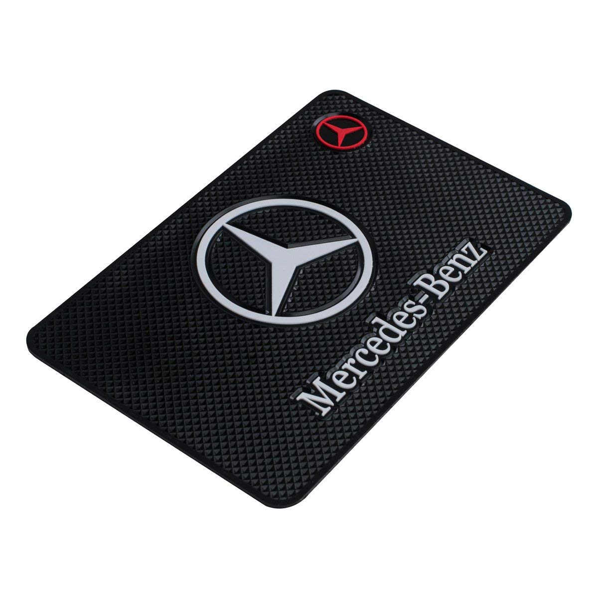 Car Dashboard Non-Slip Mat Auto High Temperature Resistance Medium 7.5Inch Leather Surface Anti-Slip Car Dashboard Pad for Phone,CD,Electronic Devices,Keyboard,Other Smooth Items Fit BMW