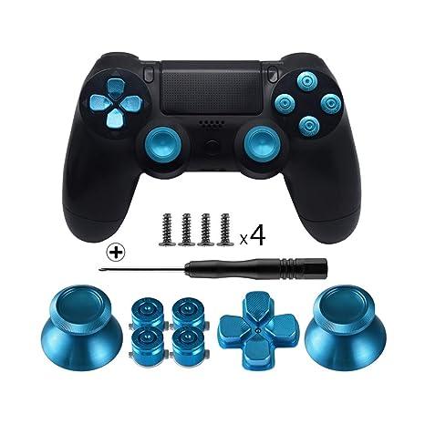 Amazon.com: Botones de metal TOMSIN para DualShock 4 ...