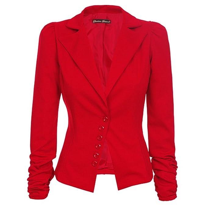 c3280b5d437a Laeticia Dreams Damen Blazer Business XS S M L  Amazon.de  Bekleidung