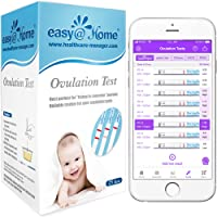 25 Pruebas de ovulación ultrasensibles (25mlU/ml), Easy@Home 25 Tests de Ovulación- Resultados Precisos con la App…