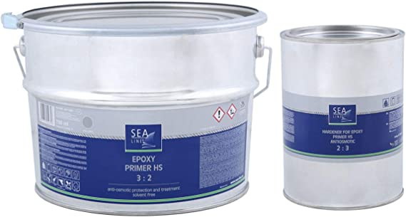 Sea-Line Universal Epoxid Spachtel 2:1 750g 2 Komponenten Reparatur Boot