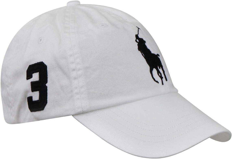 Ralph Lauren Gorra color blanco Big pony - Talla única, Blanco ...