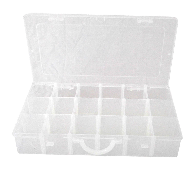 Amazon.com: Búho Plast batería caja de almacenamiento ...