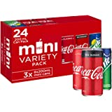 Coca-Cola Soft Drink Mixed Entertaining Pack 24 x 200mL